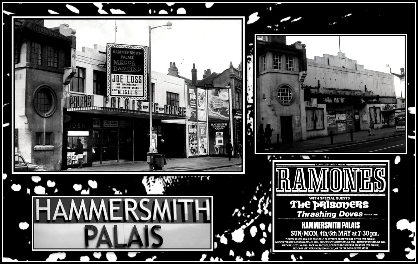 Hammersmith Palais Collage