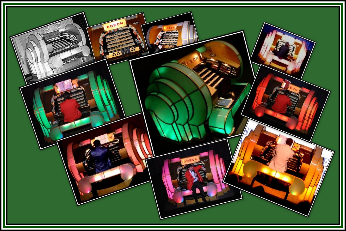 Odeon Organ Collage