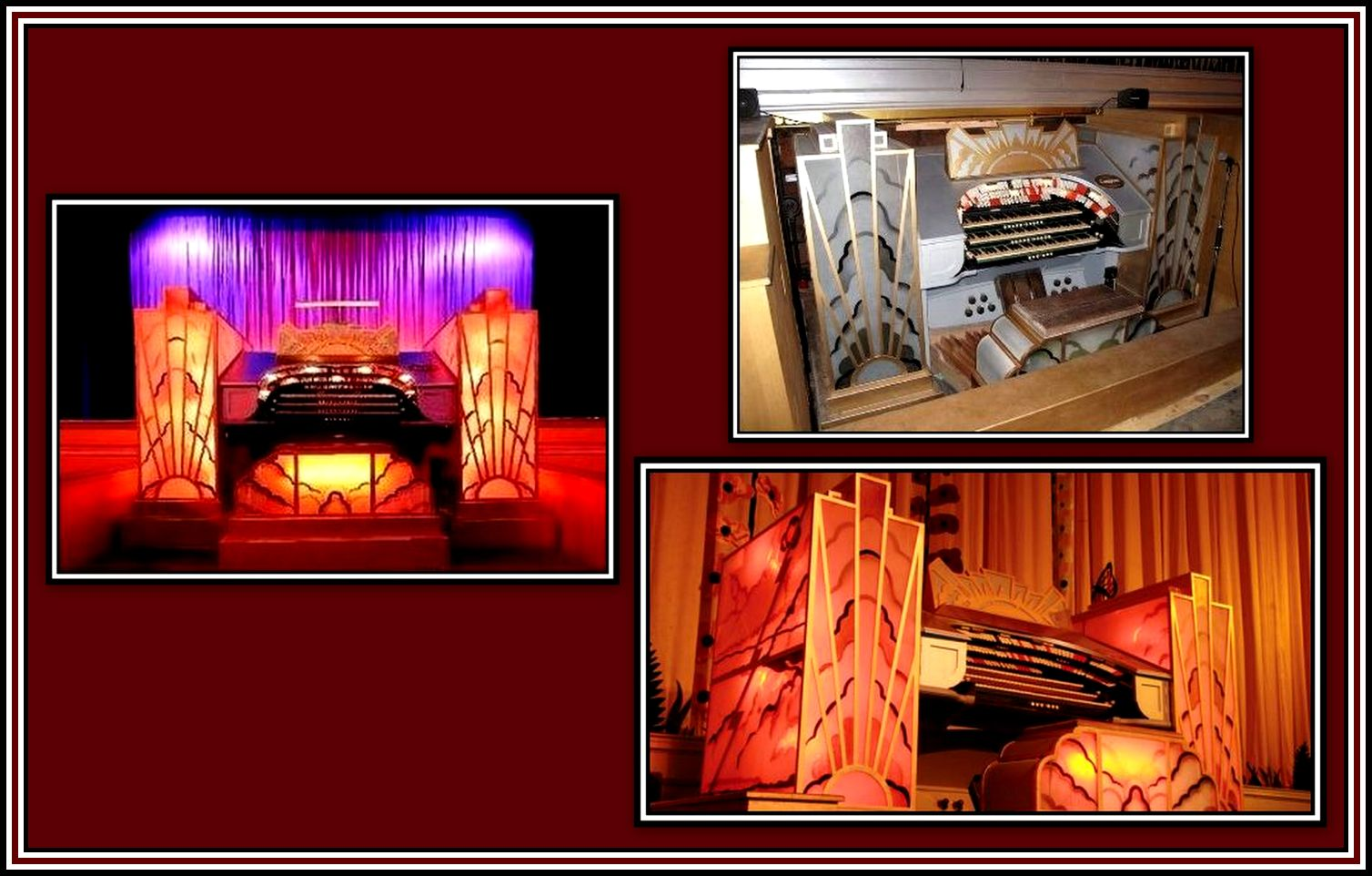 The Organ Plaza Stockport Collage
