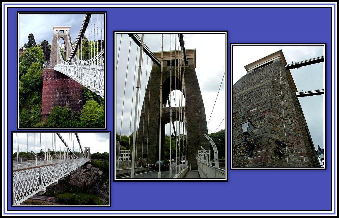 Clifton Suspension Bridge Collage