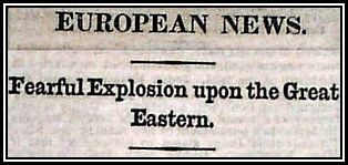 News of Explosion