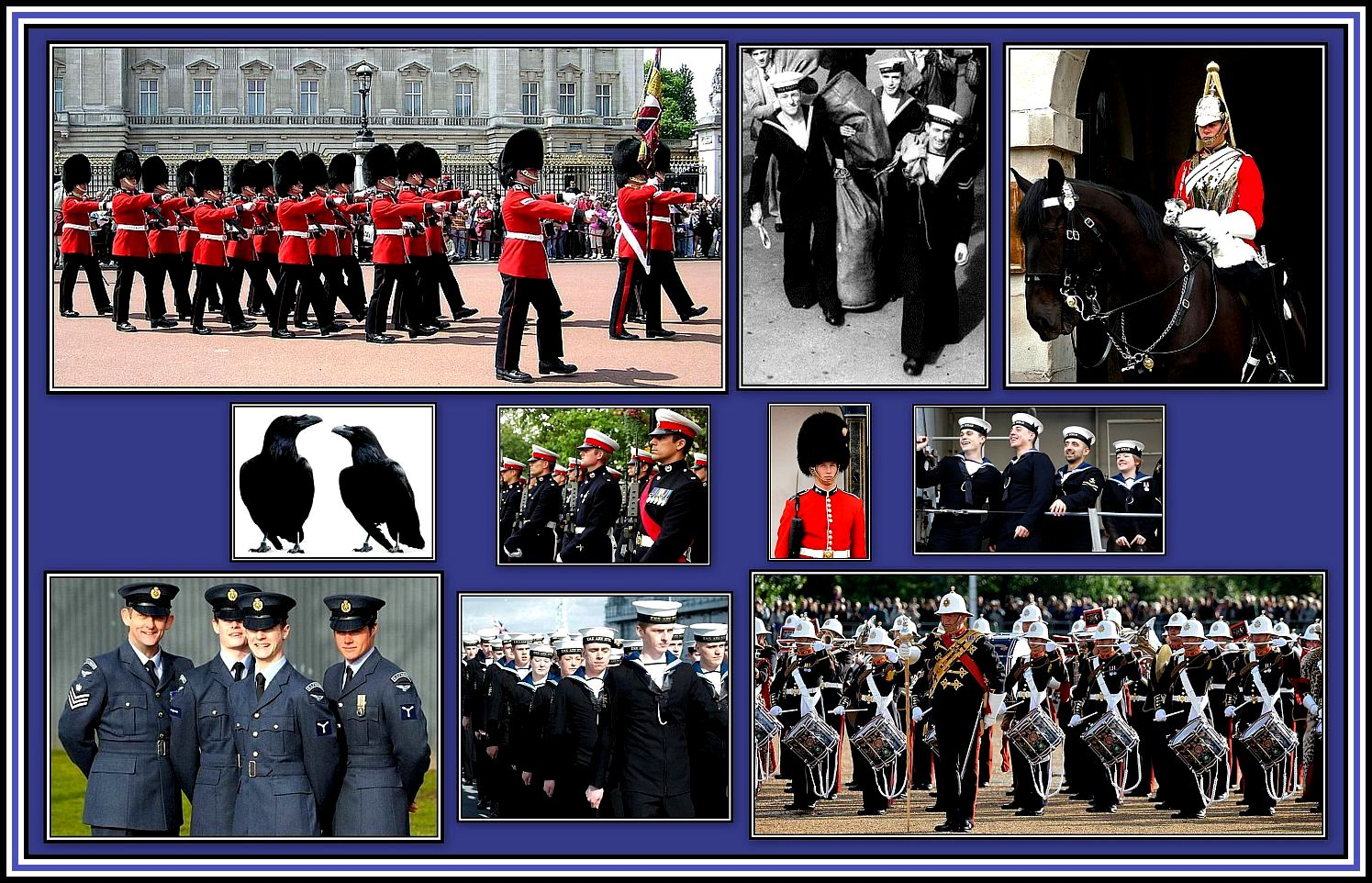 Members of the UK Armed Forces Collage