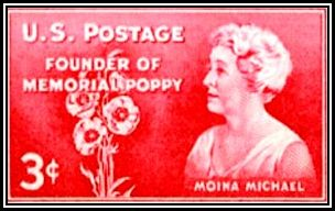 Moina Michael Stamp