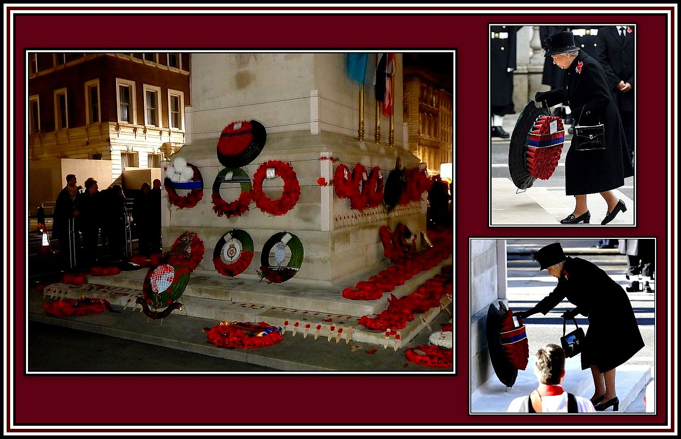 The Royal Family Wreaths Collage