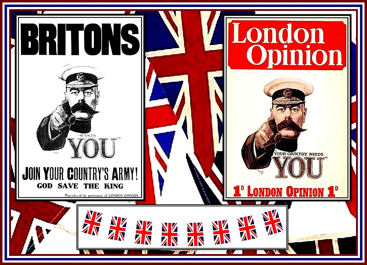 Your Country Needs You Collage