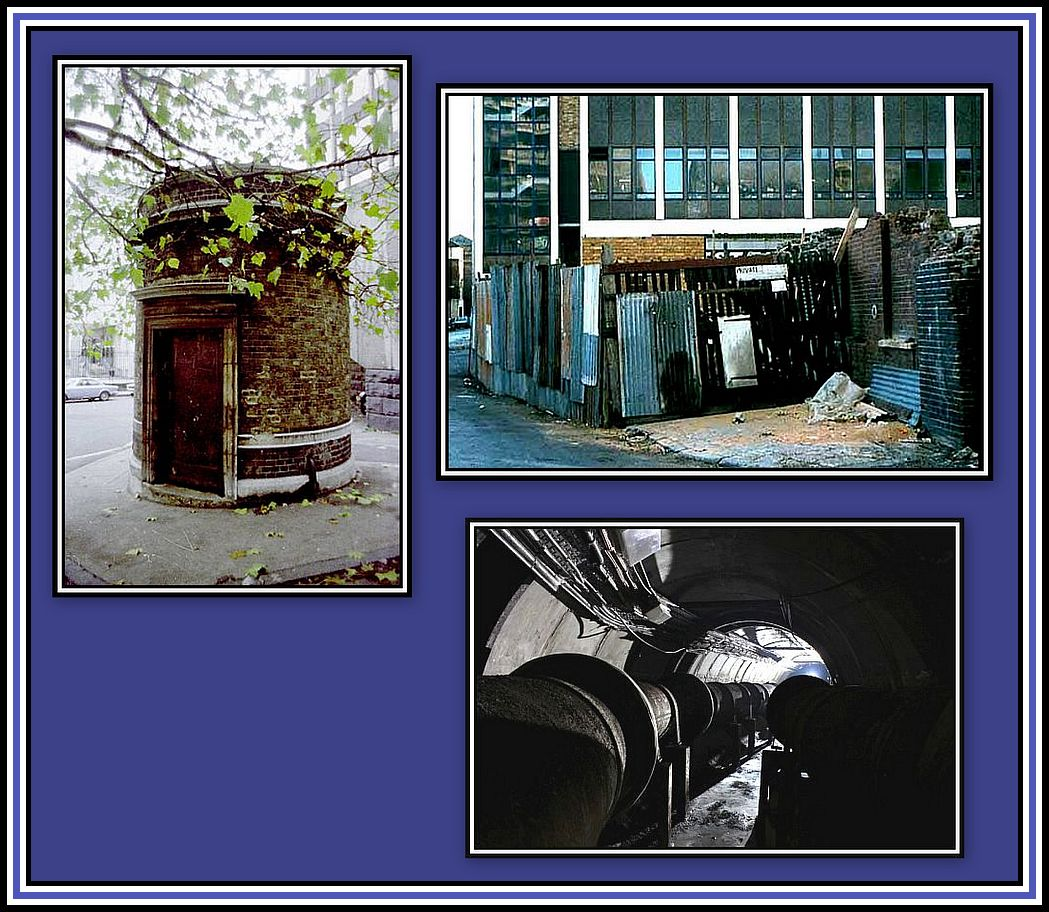 Tower Subway Collage