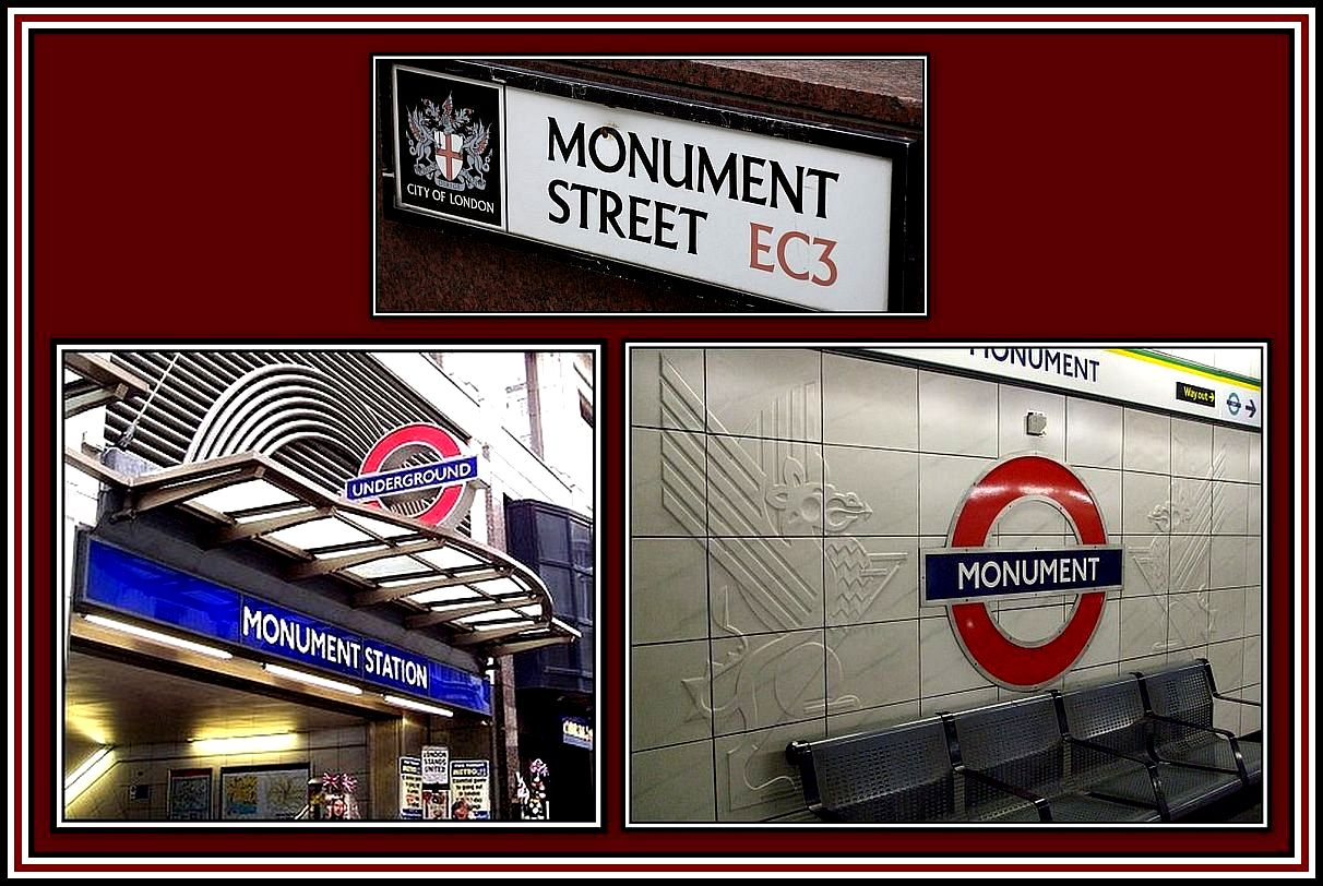 Monument Station Collage