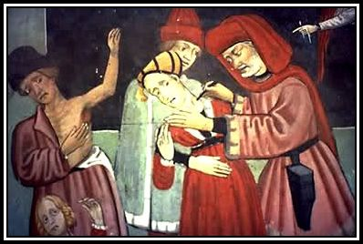 Treatment of Plague during The Black Death