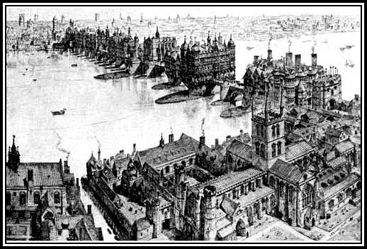 London Bridge 1700