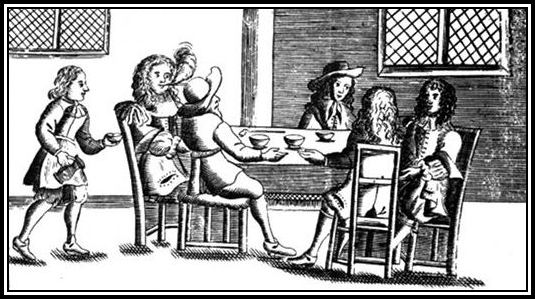 Earliest of Coffee Houses - Pepys perhaps