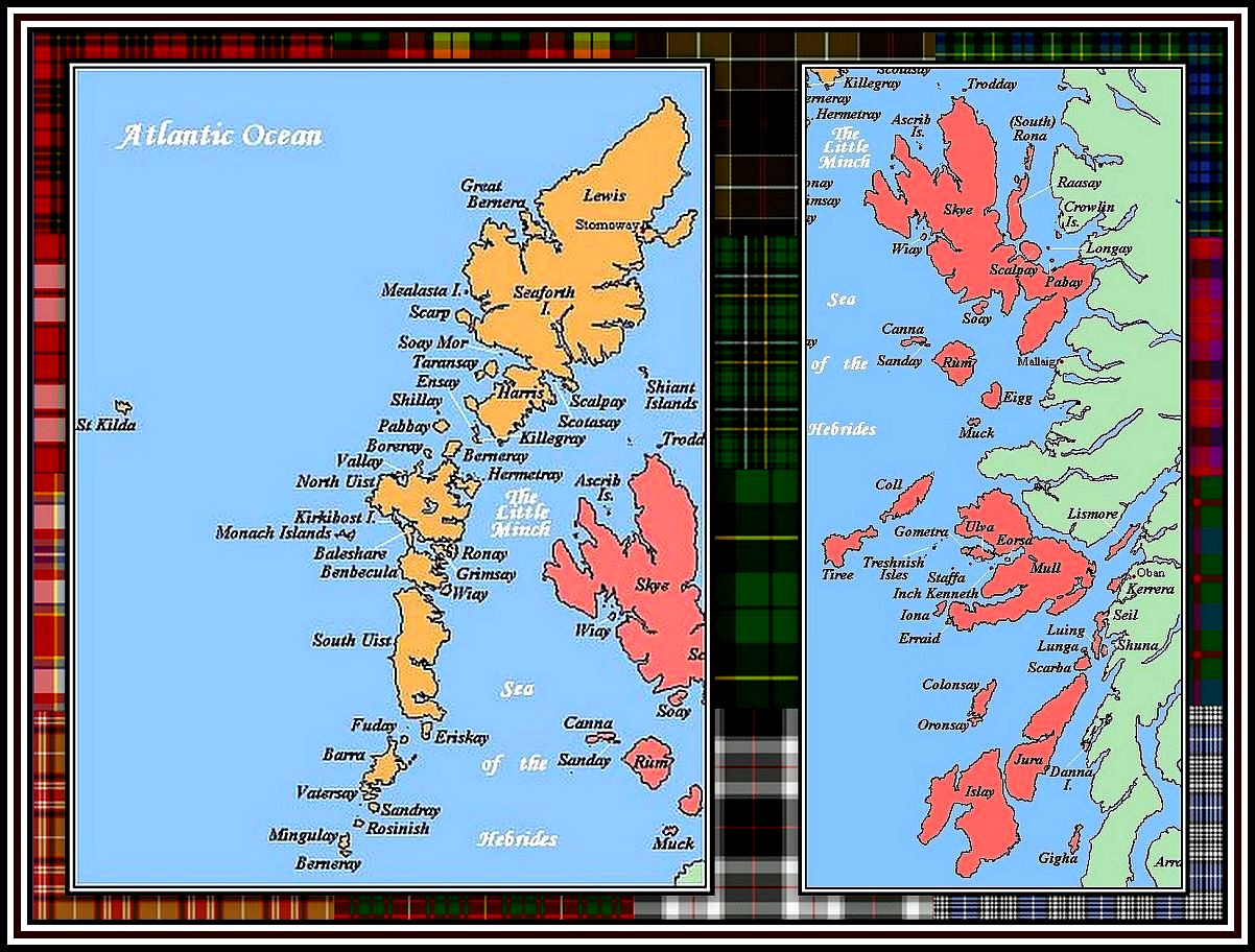 The Hebrides Collage