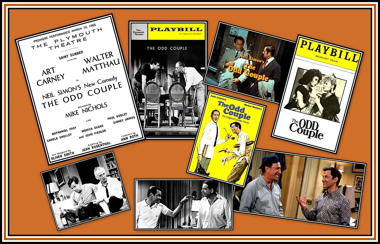 The Odd Couple Collage