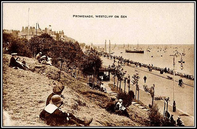 Essex, Westcliff-on-Sea, Promenade 1900's