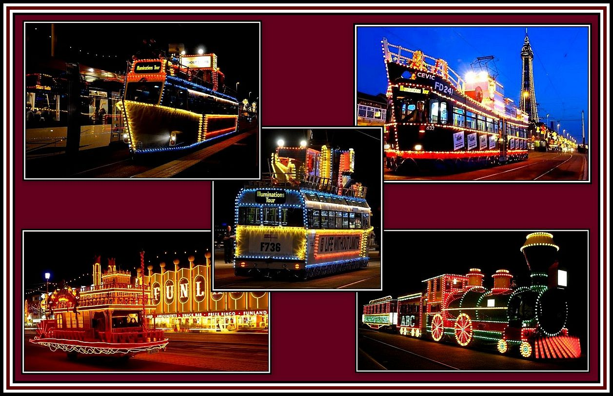 Trams Collage