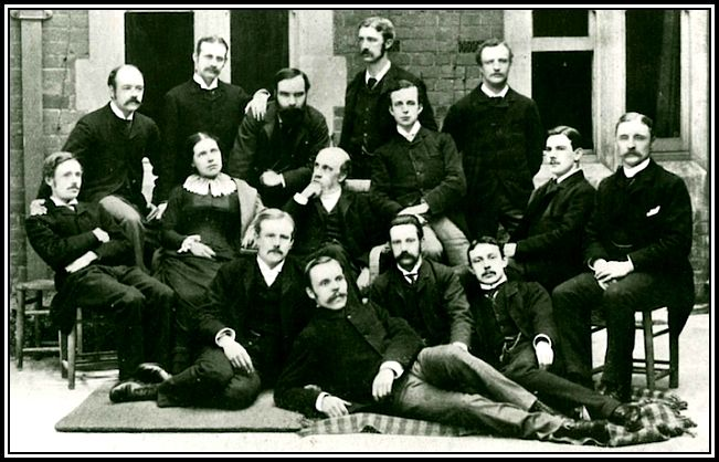 Early Students with the Barnetts