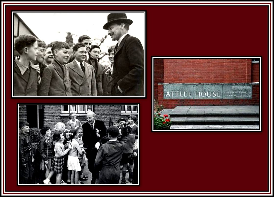 Mr. Attlee Collage