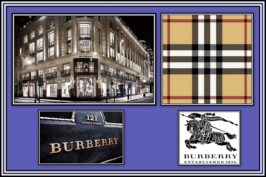 Burberry-Collage