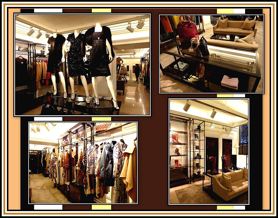 Burberry Creations Collage