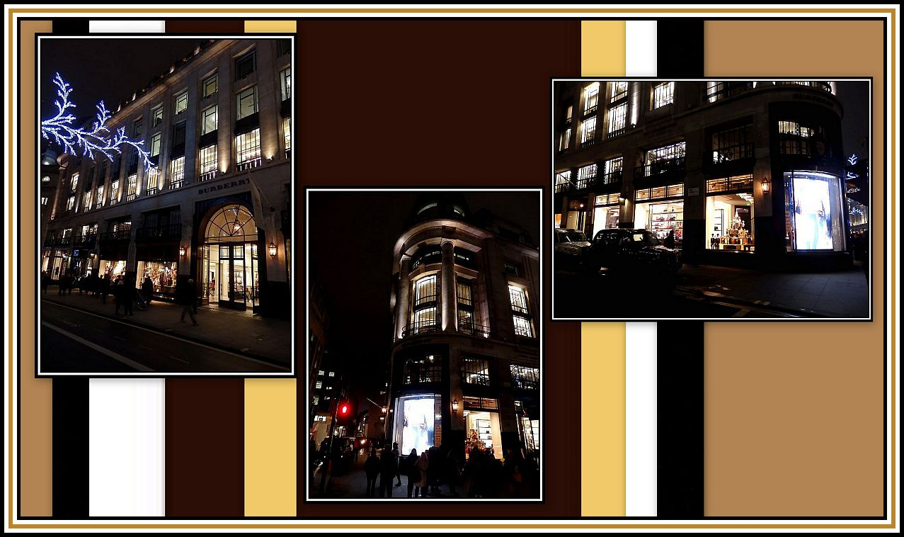 Exterior by Night Collage