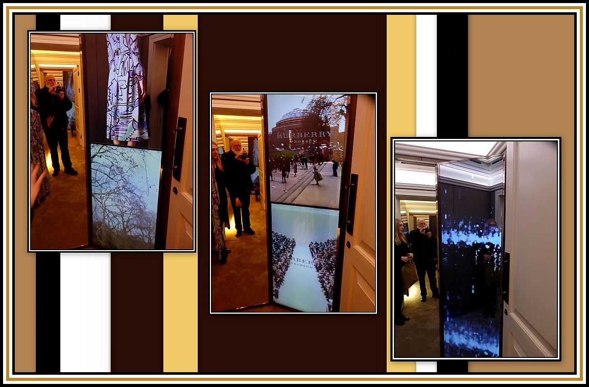 Video Screens Collage